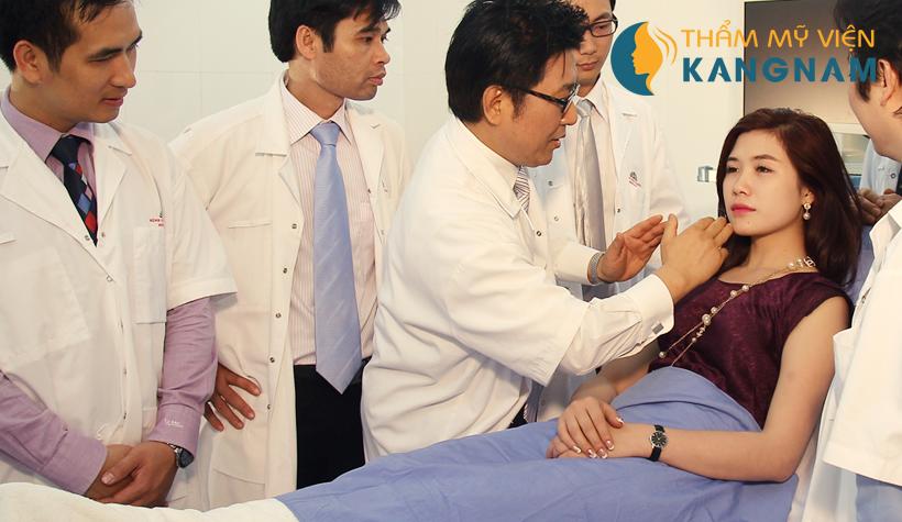 Đội ngũ bác sĩ tại Thẩm mỹ viện Kangnam 2