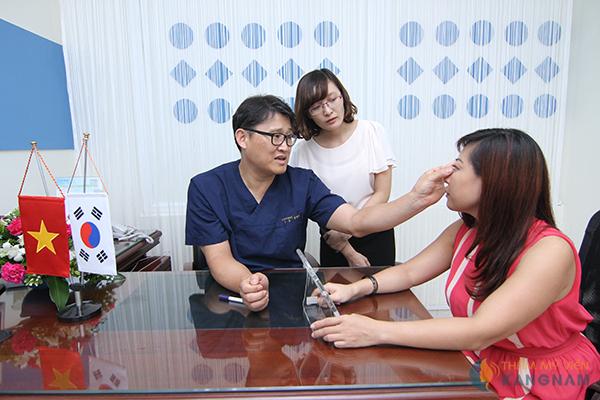 Đội ngũ bác sĩ tại Thẩm mỹ viện Kangnam 3