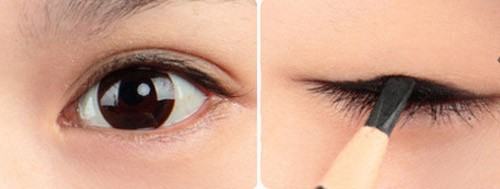 5 phút cho đôi mắt nhiều da chùng đẹp long lanh 2