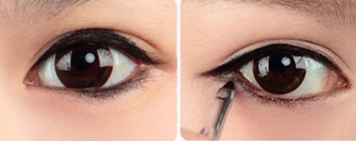 5 phút cho đôi mắt nhiều da chùng đẹp long lanh 3