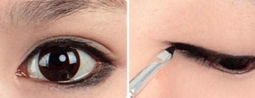 5 phút cho đôi mắt nhiều da chùng đẹp long lanh 5