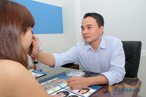 Lấy mỡ mí mắt dưới công nghệ hàng đầu Hàn Quốc