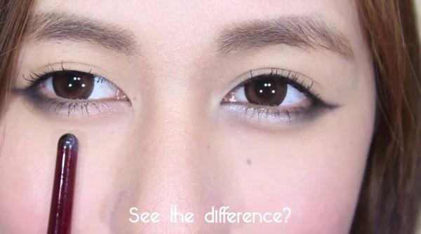 """""""Bí kíp"""" trang điểm tạo bọng mắt lớn đẹp tự nhiên5"""