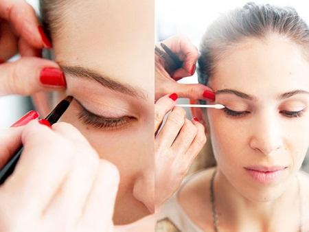 Cách làm cho mắt 1 mí to hơn nhờ 5 bước trang điểm cực đơn giản2