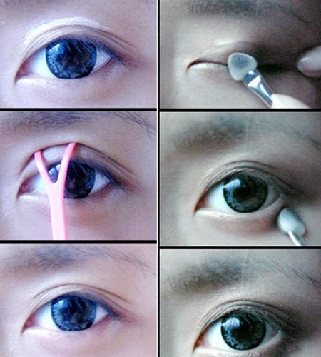 Cách làm cho mí mắt to hơn bằng keo tạo mắt 2 mí cực nhanh, cực hiệu quả2