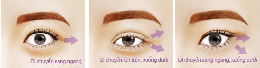 Đôi mắt to nhỏ không đều làm cách nào khắc phục