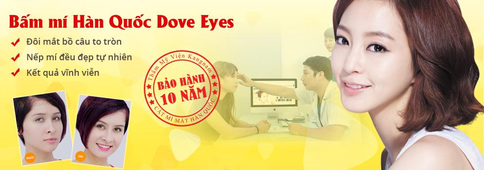 """Thoát khỏi thảm cảnh """"mắt bồ câu ngủ"""" với bấm mí Hàn Quốc Dove Eyes6"""