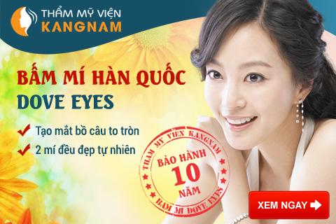 Bấm mí mắt Hàn Quốc Dove Eyes có duy trì vĩnh viễn không?1