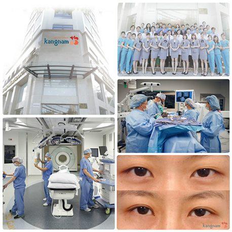 Bệnh viện thẩm mỹ Kangnam hội tụ đầy đủ những yếu tố để làm nên một ca cắt mí mắt đẹp