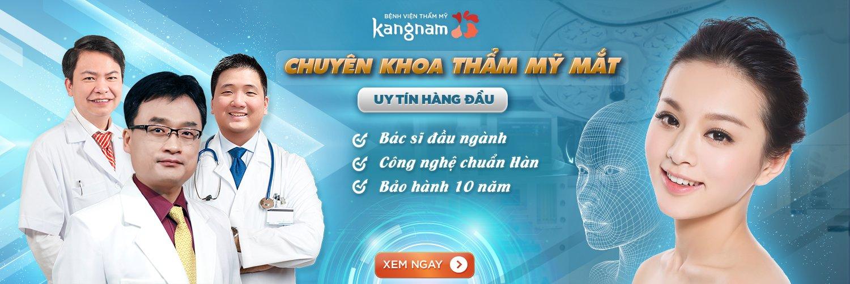 Chuyên khoa phẫu thuật cắt mí mắt tại Kangnam