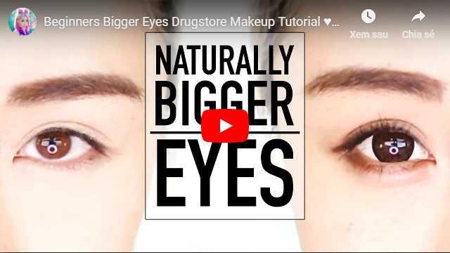 Video cách làm mắt to hơn tự nhiên bằng kích mí