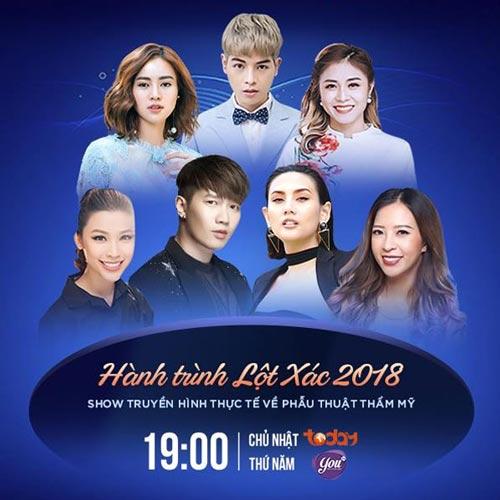 lịch phát sóng truyền hình thực tế thẩm mỹ kangnam