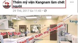 """Thẩm mỹ viện Kangnam làm chết người – Sự thật hay chỉ là trò chơi """"BẨN"""" của đối thủ"""