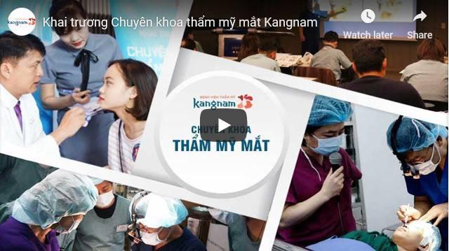 Video chuyên khoa thẩm mỹ mắt tại kangnam